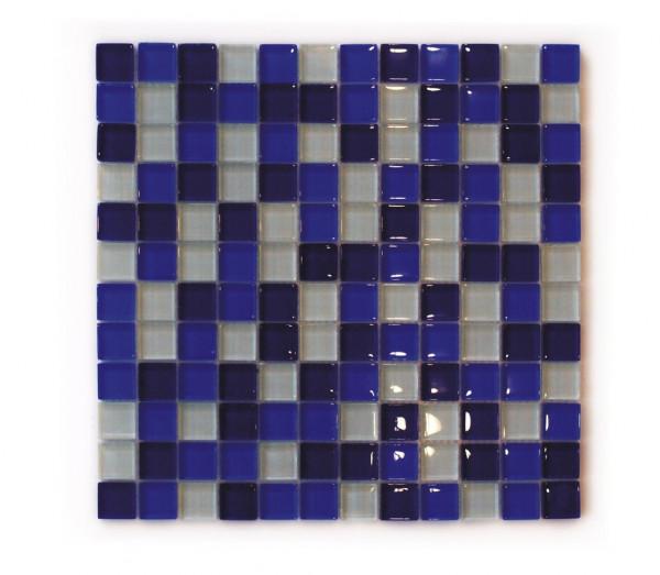 Glasmosaik wave 31,8x31,8 cm