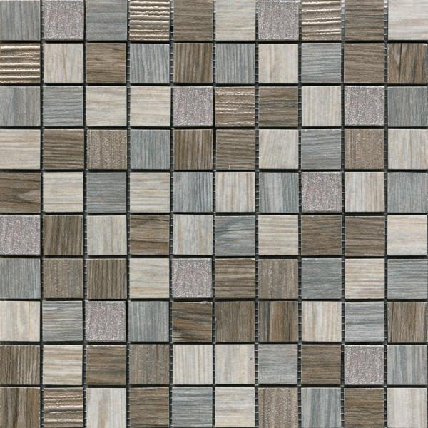 Holzoptik Mosaik Lux Grey 30,5x30,5cm