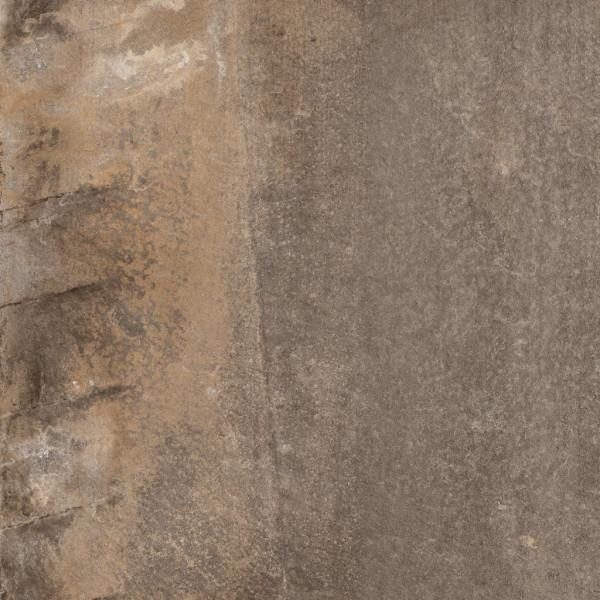 2cm Outdoor Stone Brown 80x80cm rektifiziert