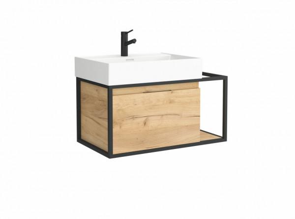 Vinci Badmöbelset mit Waschtisch 60cm