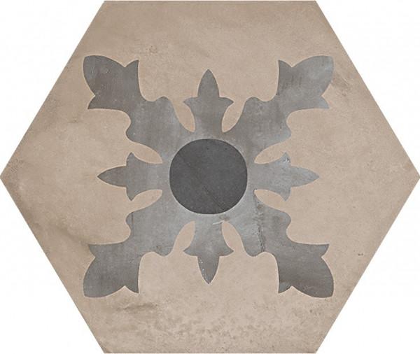 Terra Cardinale vers.F Esagono 25x21,6cm
