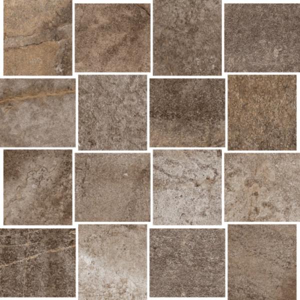 Steinoptik Stonebrown Mosaik 30x30cm